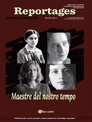 cover image of Reportages. Storia e Società. Numero 21
