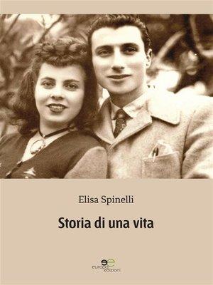 cover image of Storia di una vita