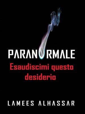 cover image of Esaudiscimi Questo Desiderio