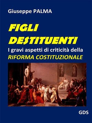 cover image of Figli destituenti