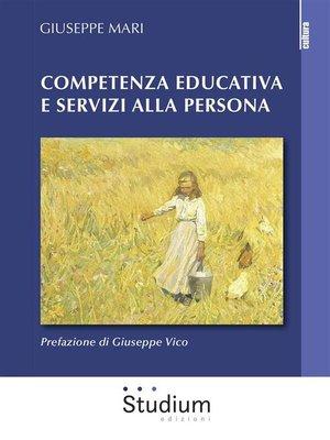 cover image of Competenza educativa e servizi alla persona