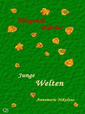 cover image of Junge Welten