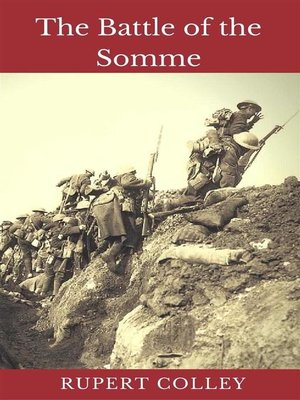 cover image of The Battle of the Somme
