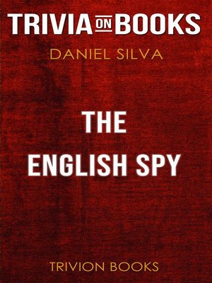 cover image of The English Spy by Daniel Silva (Trivia-On-Books)