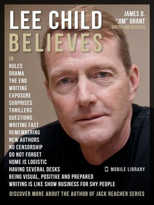 cover image of Lee Child Quotes and Believes