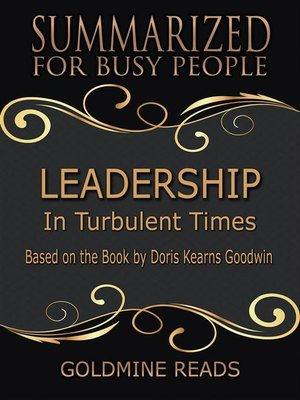 cover image of Leadership--Summarized for Busy People