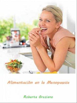cover image of Alimentaciòn En La Menopausia