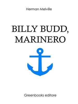 cover image of Billy Budd, marinero