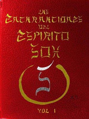 cover image of Las Encarnaciones Del Espirito Soh Volumen I
