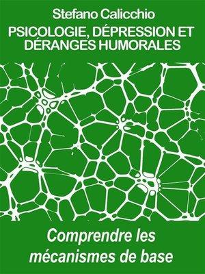 cover image of Psicologie, dépression et déranges humorales