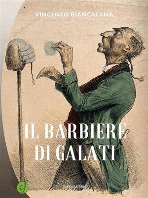 cover image of Il barbiere di Galati