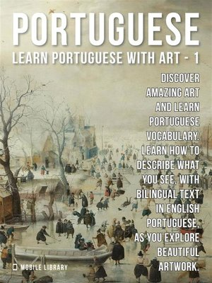 cover image of 1--Portuguese--Learn Portuguese with Art