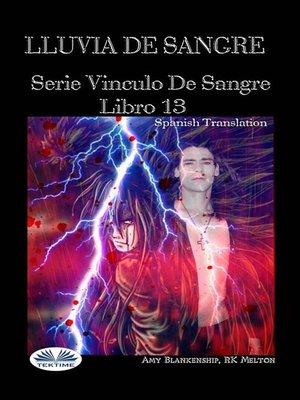 cover image of Lluvia De Sangre