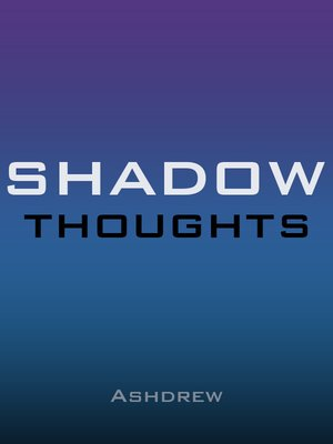 cover image of Shadow Thoughts