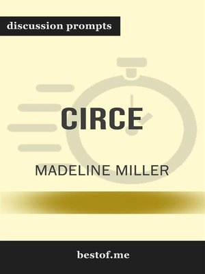"cover image of Summary--""Circe"" by Madeline Miller 