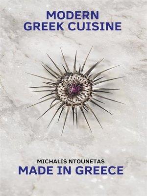cover image of Modern Greek Cuisine