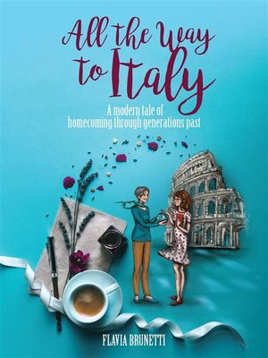 cover image of All the Way to Italy