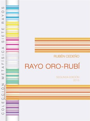 cover image of Rayo Oro Rubí