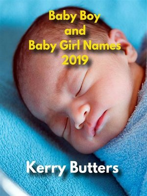 cover image of Baby Boy and Baby Girl Names 2019