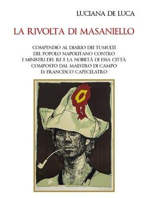 cover image of La rivolta di Masaniello