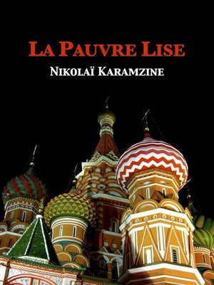 cover image of La pauvre Lise