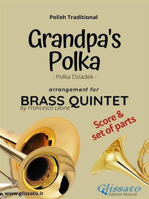 cover image of Grandpa's Polka--Brass Quintet Score + Parts