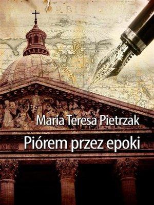 cover image of Piórem przez epoki