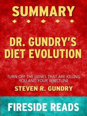 cover image of Dr. Gundry's Diet Evolution