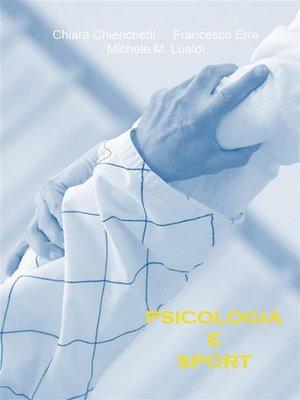 cover image of Psicologia e sport