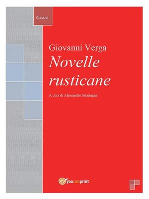 cover image of Novelle rusticane