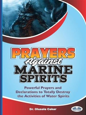 cover image of Prayers Against Marine Spirits