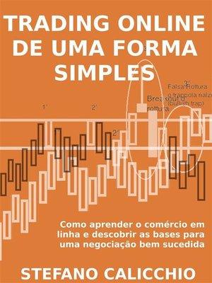 cover image of Trading online de uma forma simples