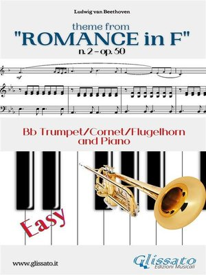 """cover image of Theme from """"Romance in F"""" Easy Trumpet & Piano"""