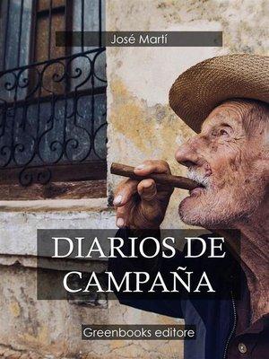 cover image of Diarios de campaña