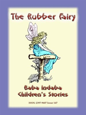 cover image of THE RUBBER FAIRY--A Fairy Tale