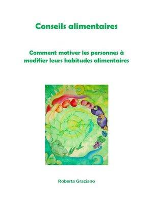 cover image of Këshilla ushqimore. Si të motivojmë njerëzit për të ndryshuar zakonet ushqimore