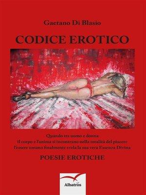 cover image of Codice erotico
