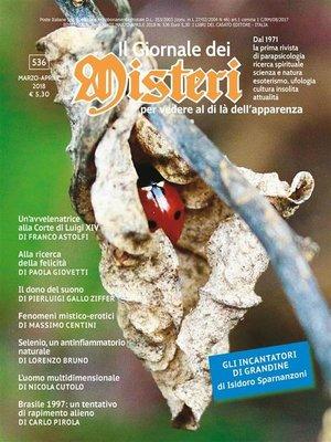cover image of Il Giornale dei Misteri 536