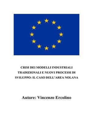 cover image of Crisi dei modelli industriali tradizionali e nuovi processi di sviluppo