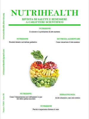 cover image of NutriHealth--Settembre 2018