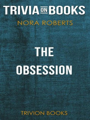 cover image of The Obsession by Michael Crichton (Trivia-On-Books)