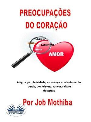 cover image of Preocupações Do Coração