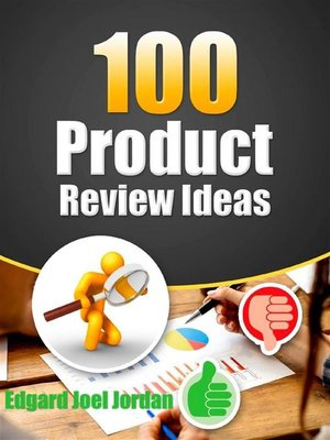cover image of 100 Product Review Ideas