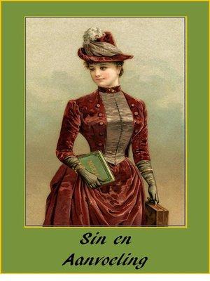 cover image of Sin en Aanvoeling