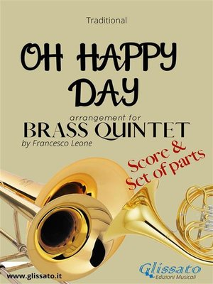 cover image of Oh Happy Day--Brass Quintet score & parts