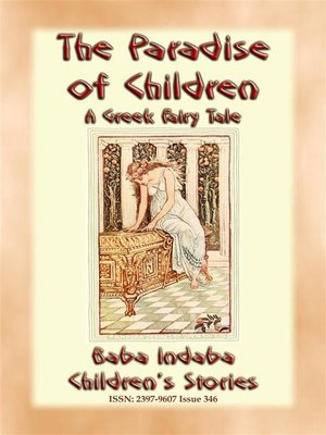 cover image of THE PARADISE FOR CHILDREN--A Greek Children's Fairy Tale