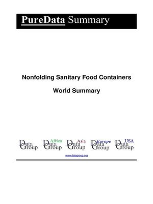 cover image of Nonfolding Sanitary Food Containers World Summary