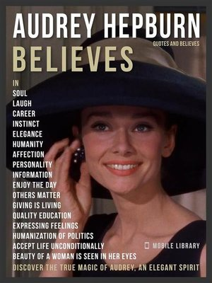 cover image of Audrey Hepburn Quotes and Believes