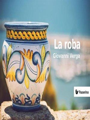 cover image of La roba