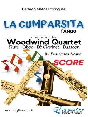 cover image of La Cumparsita--Woodwind Quartet (score)